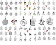 Sternzeichen Anhänger 925 Silber Damen Herren Kinder Tierkreiszeichen Schmuck