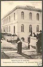 VITERBO MONTALTO DI CASTRO 01 INAUGURAZIONE SCUOLE 1914