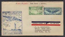 U.S.- AZORES 1939 FIRST FLIGHT FAM 18 NEW YORK TO HORTA