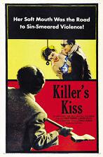 Killer's Kiss (1955)  Stanley Kubrick Movie poster print