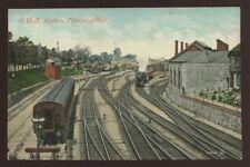 Devon NEWTON ABBOT GWR Railway Station PPC