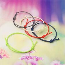50 Strand Adjustable Korea Cotton Wax Cord Bracelet Making Jewellery 40~70mm