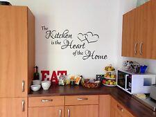 La cucina è il cuore della casa Wall Art Sticker Home Decor fai da te