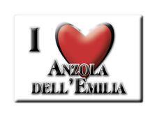 CALAMITA EMILIA ROMAGNA FRIDGE MAGNETE SOUVENIR I LOVE ANZOLA DELL'EMILIA (BO)