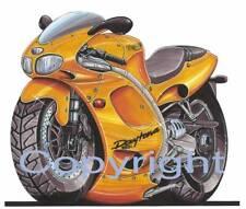 Koolart Motorbike - Triumph Daytona Metal Keyring - 0676
