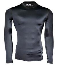AQF compression pour homme couche de base thermique sous chemise à manches complet shirt de sport