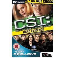 CSI: Hard Evidence PC DVD Rom NewSealed
