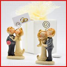 Bomboniere matrimonio MEMOCLIP coppia sposi assortite idea originale 2018