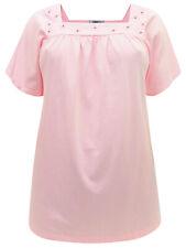 Lane Bryant ladies blouse top plus size 20/22 24/26 28/30 32/34 pink cotton