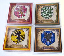 Fantastic Harry Potter Coasters (Gryffindor, Hufflepuff, Slytherin, Ravenclaw)