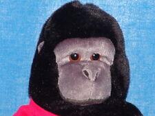 SOMEONE AT FIDM LOVES ME LIFELIKE BLACK HUG MONKEY GORILLA PLUSH STUFFED ANIMAL