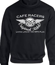 Cafe Racer toneladas Boy Sudadera Motor Biker 60 fofos Rockers Rock on! Regalo