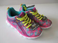 1e9c89627b44 Everlast Girl s Hidden Pink Purple Teal Memory Foam Athletic Shoe