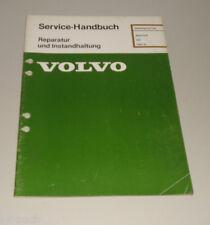 Werkstatthandbuch Volvo 340 Motor D16 / Reparatur / Instandhaltung ab 1984