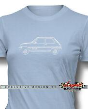 Renault 5 LeCar Le Car T-shirt for Women - Multiple Colors & Sizes - French Car