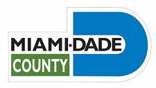 Miami Dade County Sticker Decal R949 Florida