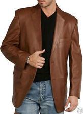Brand New Men's Genuine soft Lambskin Leather Blazer Jacket Designer Coat TB31