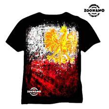 zoonamo tee-shirt POLOGNE classique FOOTBALL CHAMPIONNATS D'Europe