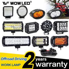 LED Work Light Bar Spot Flood Combo Offroad Driving Lights Lamp Truck 4x4 Car