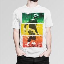 Bob Marley Plays Football T-Shirt, Men's Women's All Sizes