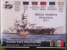 Lifecolor Acrylics LC-CS15 Regia Marina WW2 (Italian) Paint set