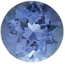 Natural Fine Blue Violet Tanzanite - Round - Tanzania - AA+ Grade