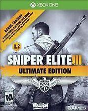 Sniper Elite III - Ultimate Edition - Microsoft Xbox One Game - Complete
