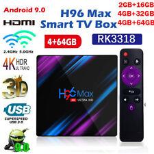 H96 Max Smart Android 9.0 TV Box 4GB RAM 64GB Quad Core HD 4K 1080P WIFI IPTV