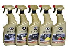 NEU K2 DEOCAR Lufterfrischer Autoduft Raumduft Sprühflasche 5 Dufte Spray 700 ml