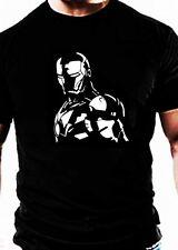 IRON MAN MARVEL TV T SHIRT musculation décontracté Gym Vêtement vêtements haut