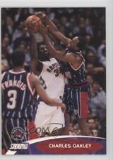 2000-01 Topps Stadium Club #72 Charles Oakley Toronto Raptors Basketball Card