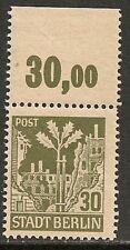 Sovjet Zone 1945 MI 7AI plate error  MNH  VF