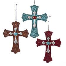 Western Cross with Gem Ornament