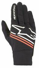 Alpinestars Reef/Copper/Spartan Lightweight Motorcycle Summer Riding Glove Black