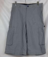 Bermuda Cargo Shorts Kurze Hose grau  H & M L.O.G.G. Größe 28 31