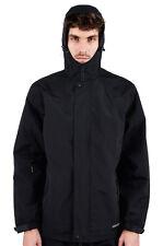 Para Hombre ubicación Apex Venom chaqueta con capucha impermeable costuras selladas Forrados En Malla Negra