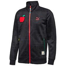 $140 NEW Men's PUMA X Dee & Ricky T7 Track Jacket 2XL XXL Black Subway Apple DR