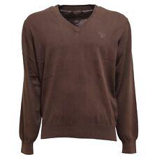 5924T maglione uomo GANT cotone marrone sweater men