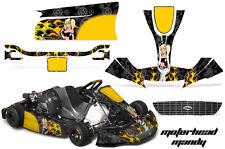 AMR RACING KART GRAPHIC STICKER KIT RIGHETTI RIDOLFI XTR14 RR- MOTORHEAD MANDY