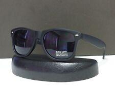 Mens Womens Wayfarer Retro Designer Sunglasses Dark Lens Shades + Soft Bag #Wf01