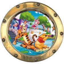 Sticker hublot enfant Winnie l' ourson et sa bande   réf  9564 9564