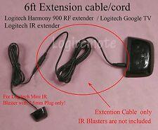 Extension cable/cord 4 Logitech Mini IR Blaster,harmony 900RF extender,Google TV