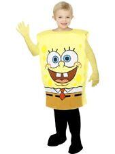 Costume Carnevale Bambino Spongebob Abito Cartoni Animati PS 06445