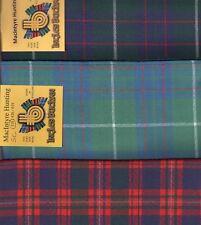 Tartan Sash Clan MacIntyre Ladies Scottish Wool Plaid