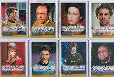 Star Trek TOS The Original Series Autograph Card Selection NM Skybox Rittenhouse