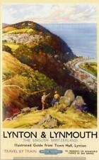 Vintage Travel/Railway,Posters,Wall Art : Lynton & Lynmouth English Switzerland