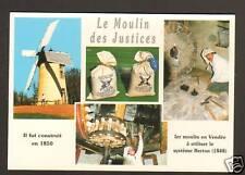 MOULIN de ST-MICHEL-MONT-MERCURE 85: TRAVAIL du MEUNIER