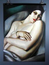 "Tamara De Lempicka, ""Rafaela Sur Fond Vert""  Poster 27 x 37 Inches"