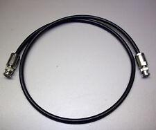 15 m Highflexx 7 (50 Ω) konfektioniert mit 2 x BNC-Stecker