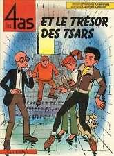 Ed. CASTERMAN EO LES 4AS ET LE TRESOR DES TSARS